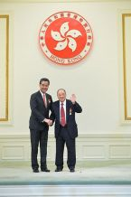 菱電發展集團名譽主席胡法光博士 GBS, JP 榮獲大紫荊勳章